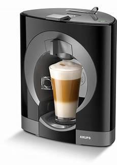 kapsel kaffeemaschine kaffeeautomat krups oblo schwarz 10