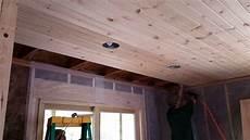 cabine installation 2016 09 23 cabin 41 car siding installation on the