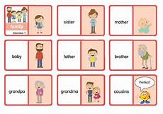 Bruder Malvorlagen Englisch Domino Family Englisch Grundschule Englischunterricht