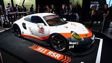2017 Porsche 911 Rsr Le Mans Racer Goes Mid Engine