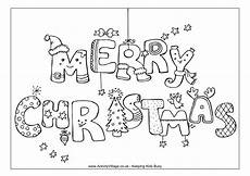 merry christmas coloring page templates at allbusinesstemplates com