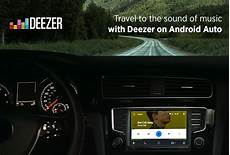 deezer android auto on the road with android auto deezer