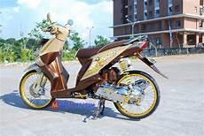 Modifikasi Beat 2009 by Modifikasi Beat 2009 Bekasi Berhias Culture Jawa