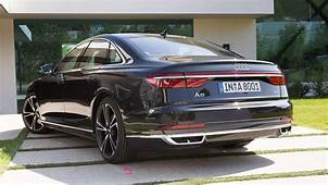 2019 Audi A8 Rear View  Luxury Cars