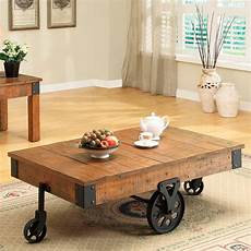 coaster country style coffee table 187 gadget flow