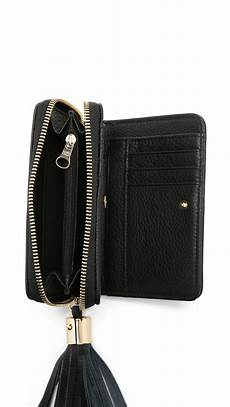 see by chlo 233 vicki small wallet in black lyst