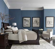 Wall Master Bedroom Room Color Ideas by Pretty Blue Color With White Crown Molding In 2019 Small