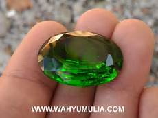 batu green tektit kode 421 wahyu mulia