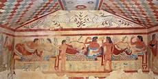 banchetto etrusco etruscans expo la delle meraviglie