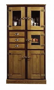 meuble garde manger bois meubles de rangement en bois bahuts buffets sur mesure 224 12