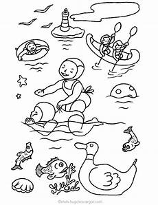 summer coloring pages coloringpages1001