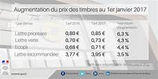 Combien De Timbre Pour 50g Augmentation Des Tarifs Postaux Au 1er Janvier 2017 Edilink