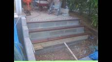 Extérieur Bois Escalier De Jardin En B 233 Ton Galet Et Bois