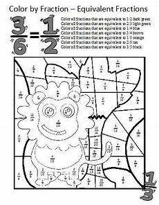 fraction worksheets colouring 3874 equivalent fractions fractions worksheets and fractions on