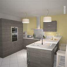 meuble de cuisine casserolier stilo noyer naturel 3