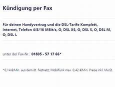 o2 kündigung faxnummer k 252 ndigung per fax o community handyvertrag k ndigen