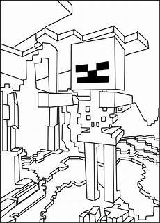 Minecraft Malvorlagen Terbaik Minecraft Steve Coloring Pages Getcoloringpages