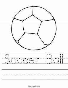 soccer ball worksheet twisty noodle