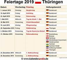 ferien thüringen 2019 kalender feiertage th 252 ringen 2019 2020 2021 mit druckvorlagen