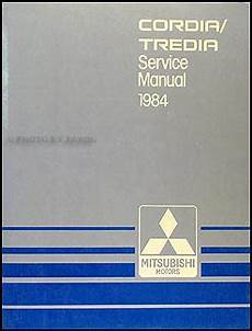 old cars and repair manuals free 1984 mitsubishi space engine control 1984 mitsubishi cordia and tredia repair shop manual original