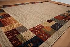 teppich design modern 200 x 300 cm grau wolle