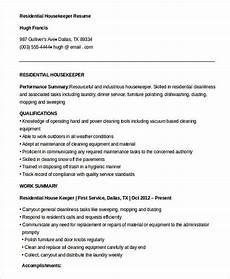 free download residential housekeeper resume housekeeping manager resume do you feel