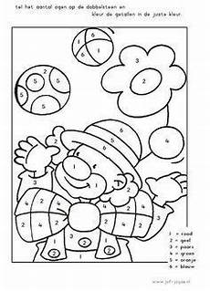 Ausmalbilder Fasching Malen Nach Zahlen Color By Number Drawing Coloring Worksheets