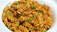 indian style pasta recipe spicy masala pasta quick