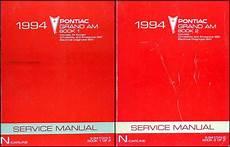 car manuals free online 1994 pontiac grand am spare parts catalogs 1994 pontiac grand am repair shop manual original set