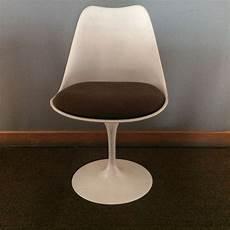chaise tulip vintage design eero saarinen pour knoll