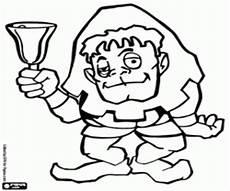 Quasimodo Malvorlagen Gratis Ausmalbilder Quasimodo Mit Einer Glocke Zum Ausdrucken