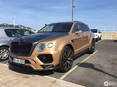 bentley bentayga mansory bentley mansory bentayga 20 august 2017 autogespot