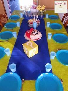 deco anniversaire mario decoration anniversaire mario d anniversaire 8