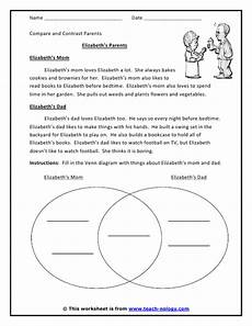 click to print compare and contrast worksheets