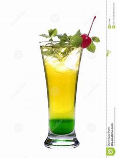 icy cold drink image of summer mint cherry