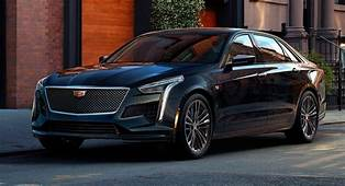 Facelifted 2019 Cadillac CT6 Gets New V Sport With 550hp