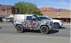 land rover electric 2020 2020 land rover defender prototypes are testing in moab