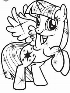 twilight sparkle coloring page my pony coloring