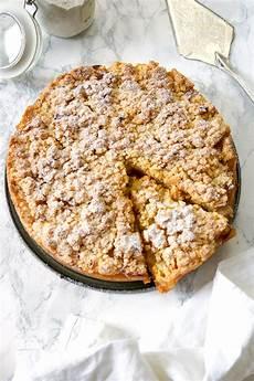 Apfelblechkuchen Mit Streusel - omas apfelkuchen mit streusel apfelkr 252 mel rezept