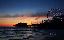 Santa Monica Pier Wallpaper  WallpaperSafari