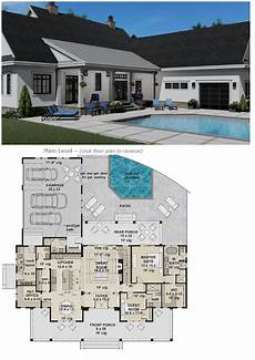 ranch style house plans 4 bedroom with basement silverbell ranch house plan with 4 bedrooms 4 full baths
