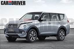 Next Generation Mitsubishi Pajero/Montero  Rendering
