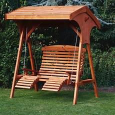 afk roofed comfort wooden garden swing seat uk