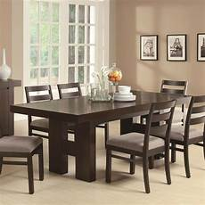 Wood Dining Room Furniture casual contemporary wood dining table chairs dining