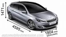 Peugeot 308 Sw 2014 Dimensions Boot Space And Interior