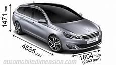 longueur peugeot 308 dimensions des voitures peugeot longueur x largeur x hauteur