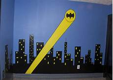 i want this my futre sons wall minus the batman spotlight there will be a real batman