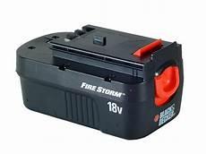 black decker a18 nicd slide pack battery 18 volt 1 5ah