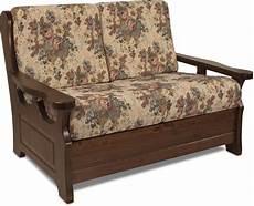 divanetti antichi divano rustico 2 posti con struttura in legno massello di