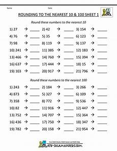estimation math worksheets 8224 rounding numbers worksheets to the nearest 100 rounding worksheets third grade math 3rd